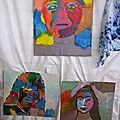 Portraits réalisés par les enfants