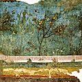 Fresque de la Villa de Prima Porta de Livie (Rome)