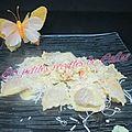 Raviolis sauce crème oignons et saumon fumé