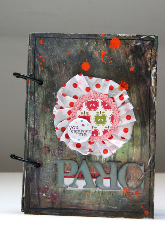 Mini album PARC- recto-
