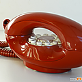 Collection ... telephone lady * rouge