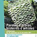 Paroles d'arbres, histoires d'artistes