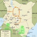 Kenya 3 / Lac Turkana -> Nanyuki