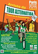 Tour de France Alternatiba Paris 26 27 septembre 2015 meeting concert Naomi Klein Sinsemilia affiche