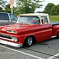 Chevrolet C10 custom stepside de 1960 (Rencard Burger King septembre 2011)