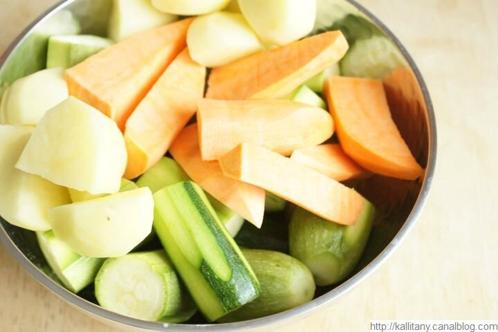 Blog culinaire Kallitany - recette couscous végétarien (5)
