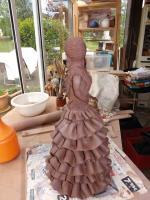aurora,Femme,silhouette,sculpture,modelage,mes5elements,terre,raku,céramique,art,creation,grès,poterie,déco,cadeau,expo,originale,oeuvre,art (7)