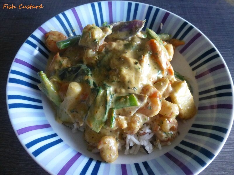 Crevettes au curry rendang (3)
