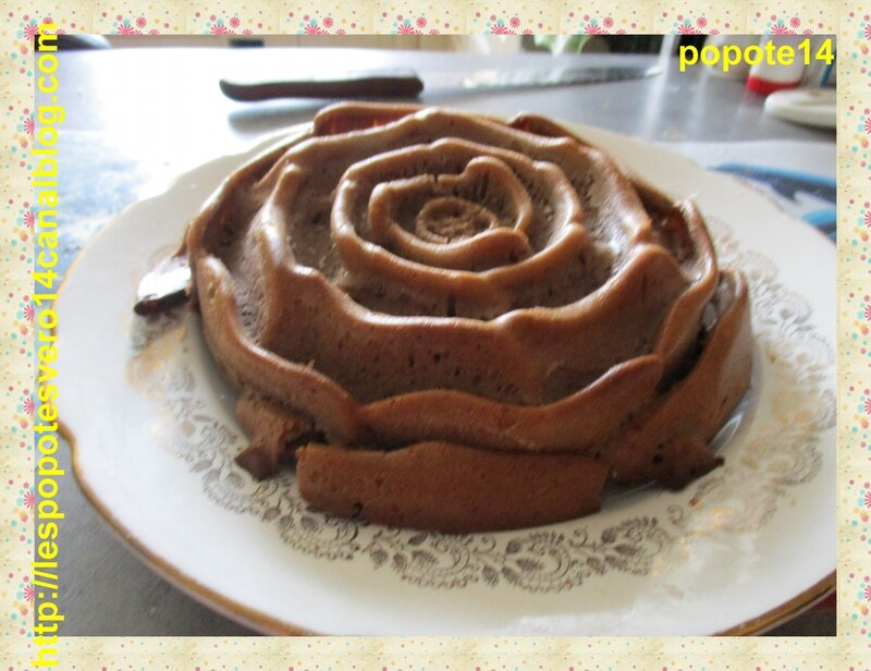 gateau aux chocolatet riz croustilliant 7