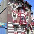 MERS les BAINS - de très belles façades de maison