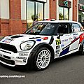 Mini john cooper works n°55 (campana decastelli)(rallye de france 2011)