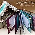 Mini Album Chalet - Ouvert