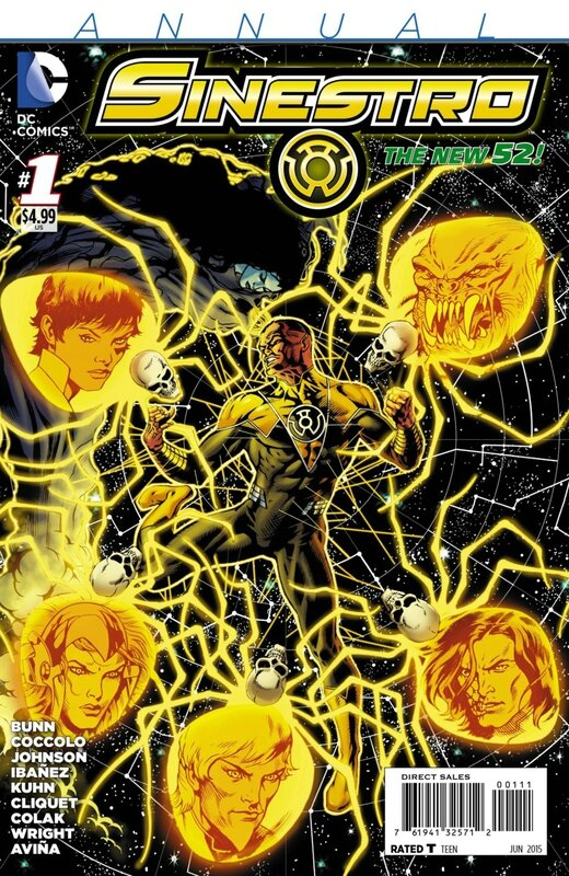 new 52 sinestro annual 01