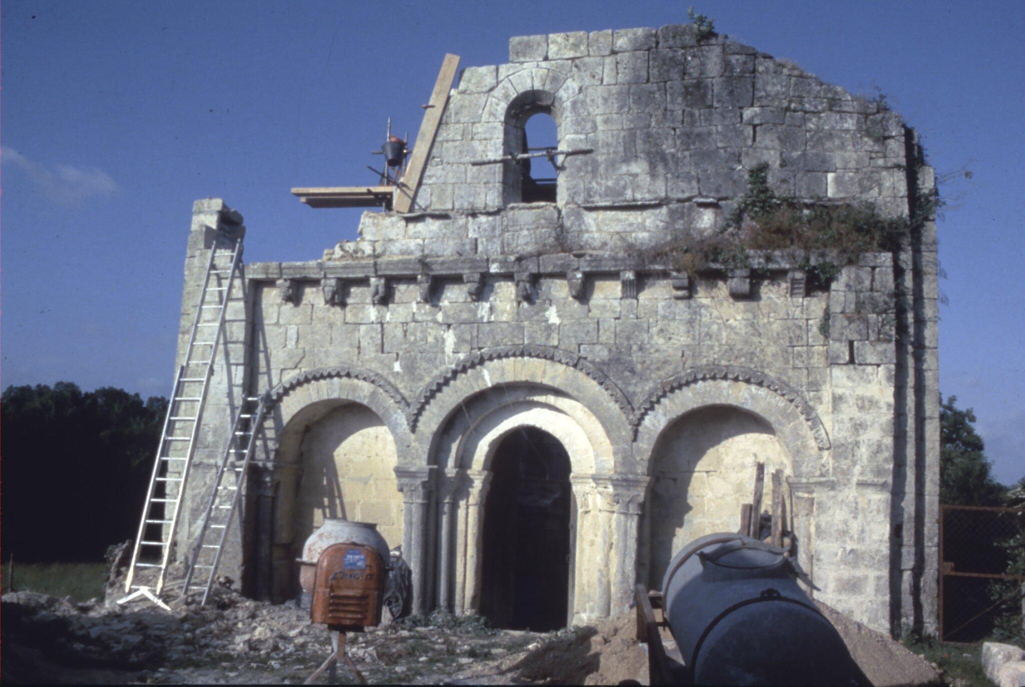 archéologie du bâti, CLUB MARPEN Nouvelle-Aquitaine,CHARENTE
