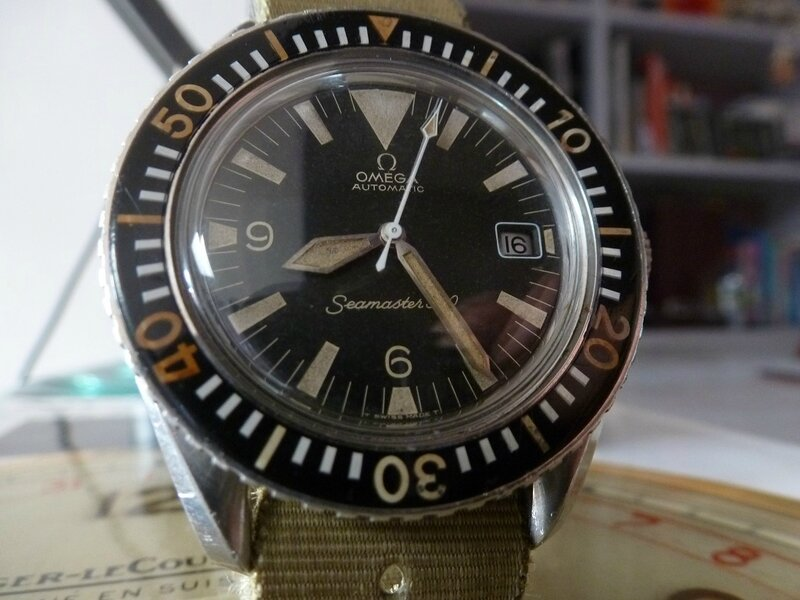 SEAMASTER 300 BIG TRIANGLE CIRCA 1967