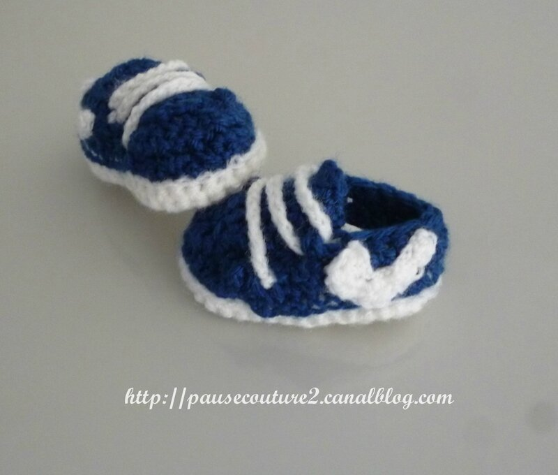chaussons baskets Nike 3