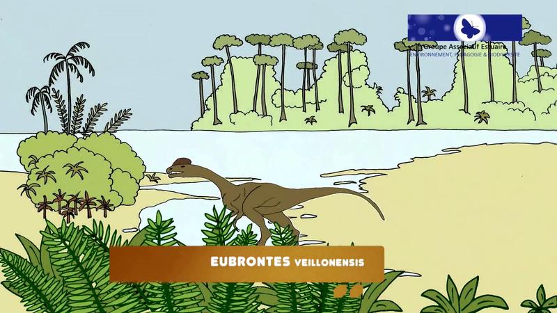 Eubrontes veillonensis Vendée Talmont St Hilaire plage du Veillon