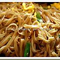 Pad thai (nouilles thaïlandaises frites)