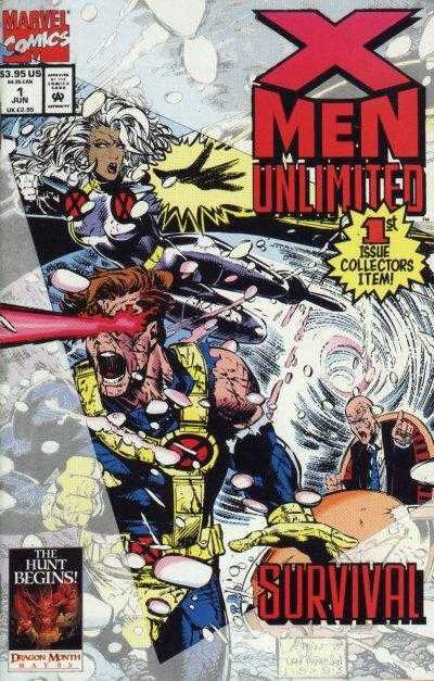 x-men unlimited 1993 01