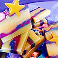 Winter's stars soap