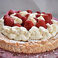 Gâteau aux fraises sans gluten inspiré par christophe michalak