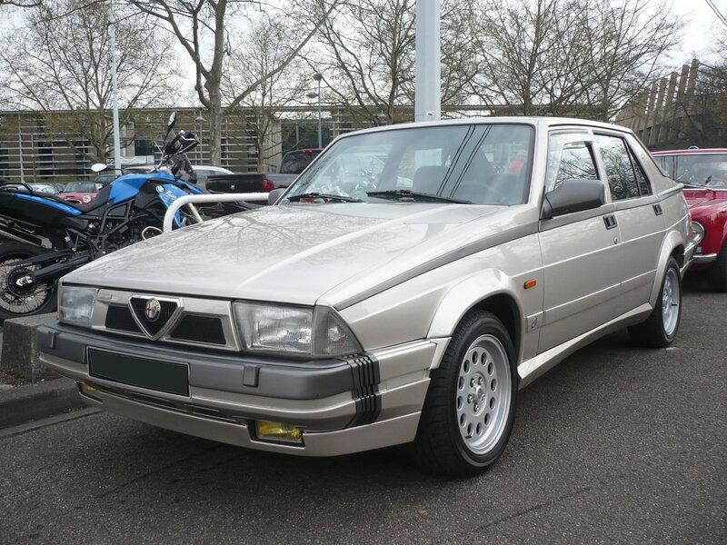 ALFA ROMEO 75 V6 3