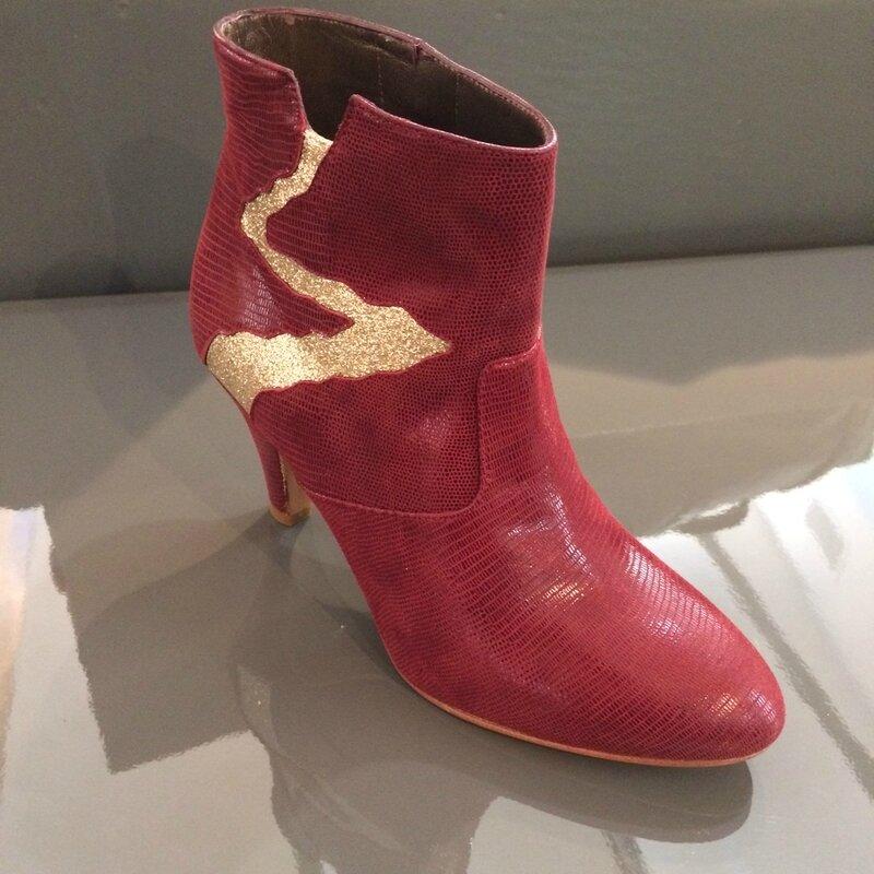 Patricia BLANCHET boots DEBORAH AH1617 Boutique Avant Après 29 rue Foch 34000 Montpellier