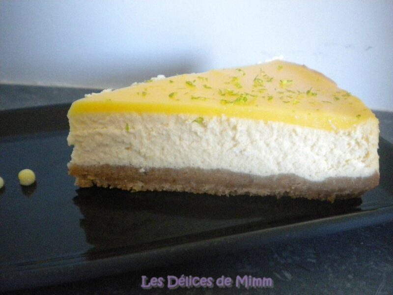 Cheesecake au citron 4