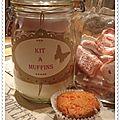 Kit à muffins pour se régaler...