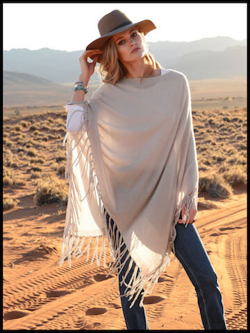 peter hahn the lovely brand poncho 1
