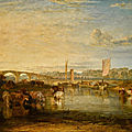 Early jmw turner oil painting saved for the nation