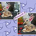 Quilling lapin1