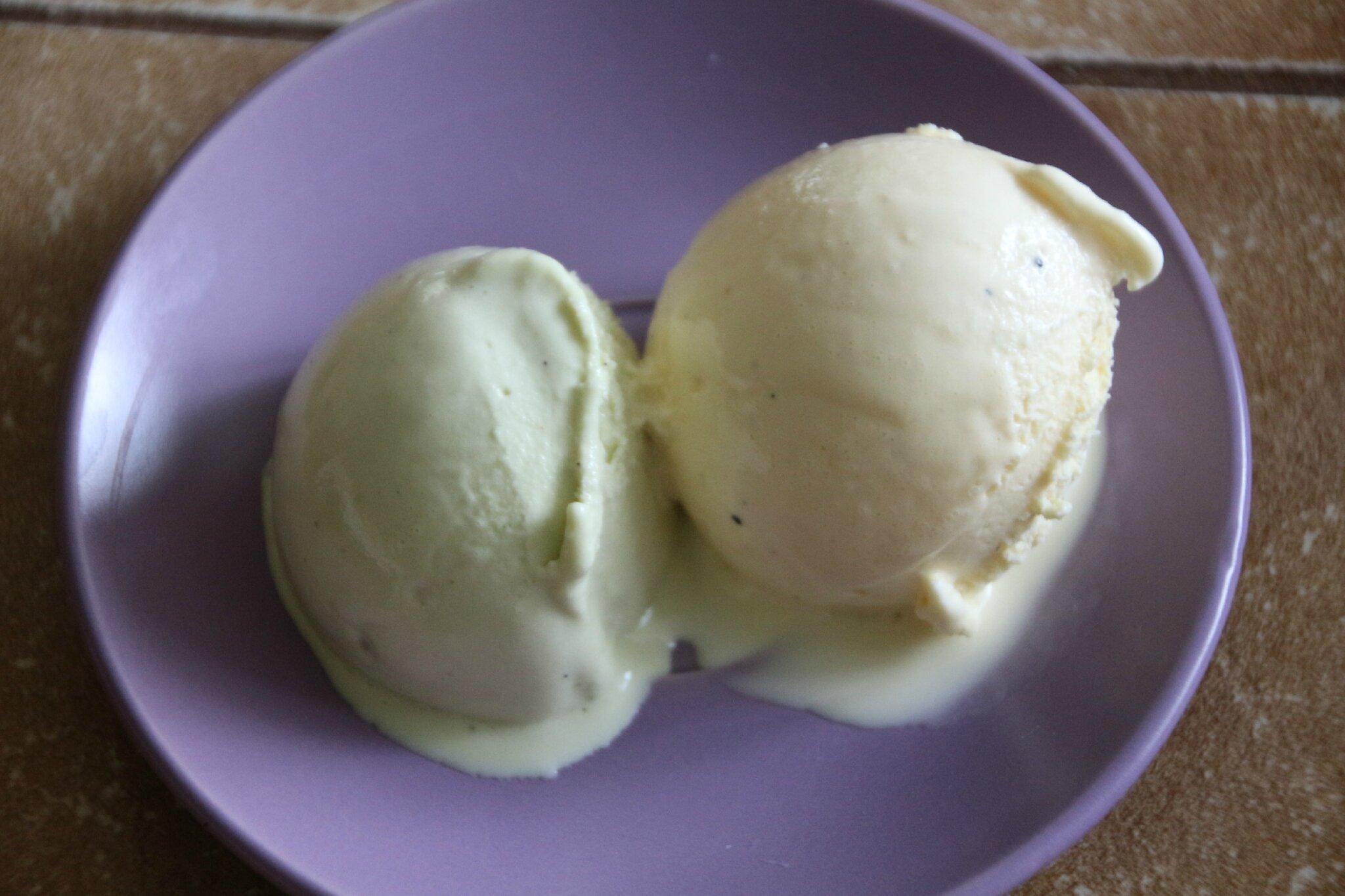 Recette Glace Pistache Sans Oeufs glace vanille et pistache au lait concentre - sylgote aux