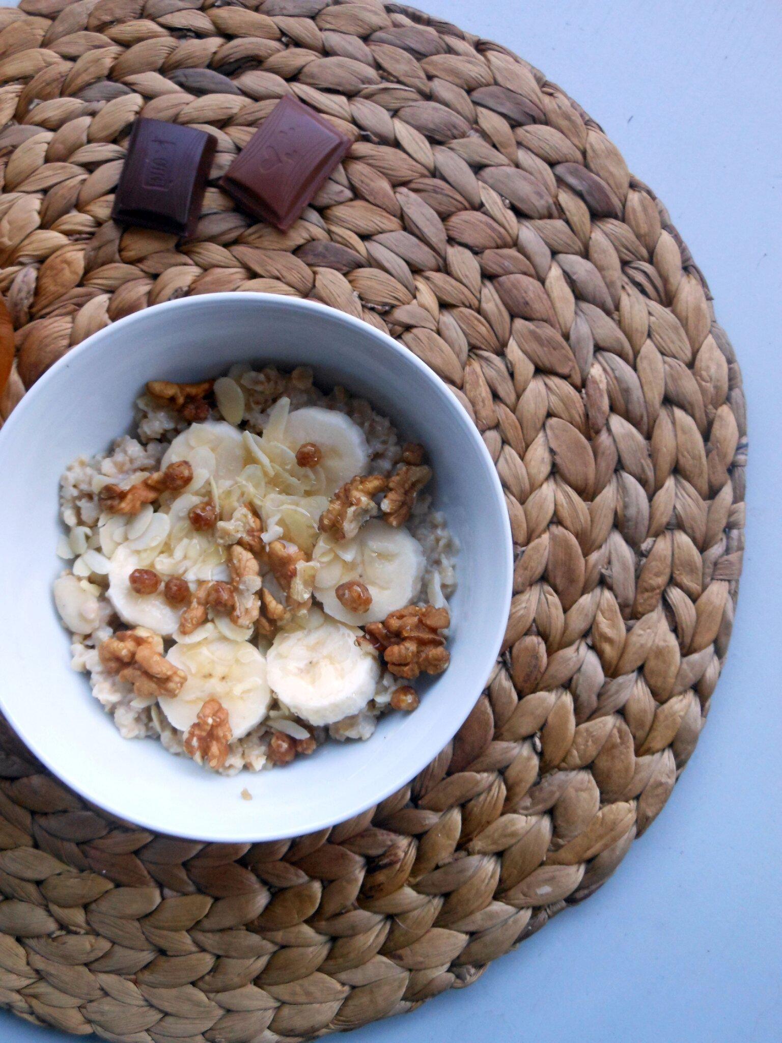 Porridge Vanille-Banane