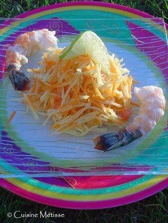 Salade_de_papaye_verte_et_crevettes_marin_es