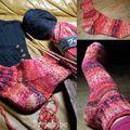 Chaussettes flamboyantes