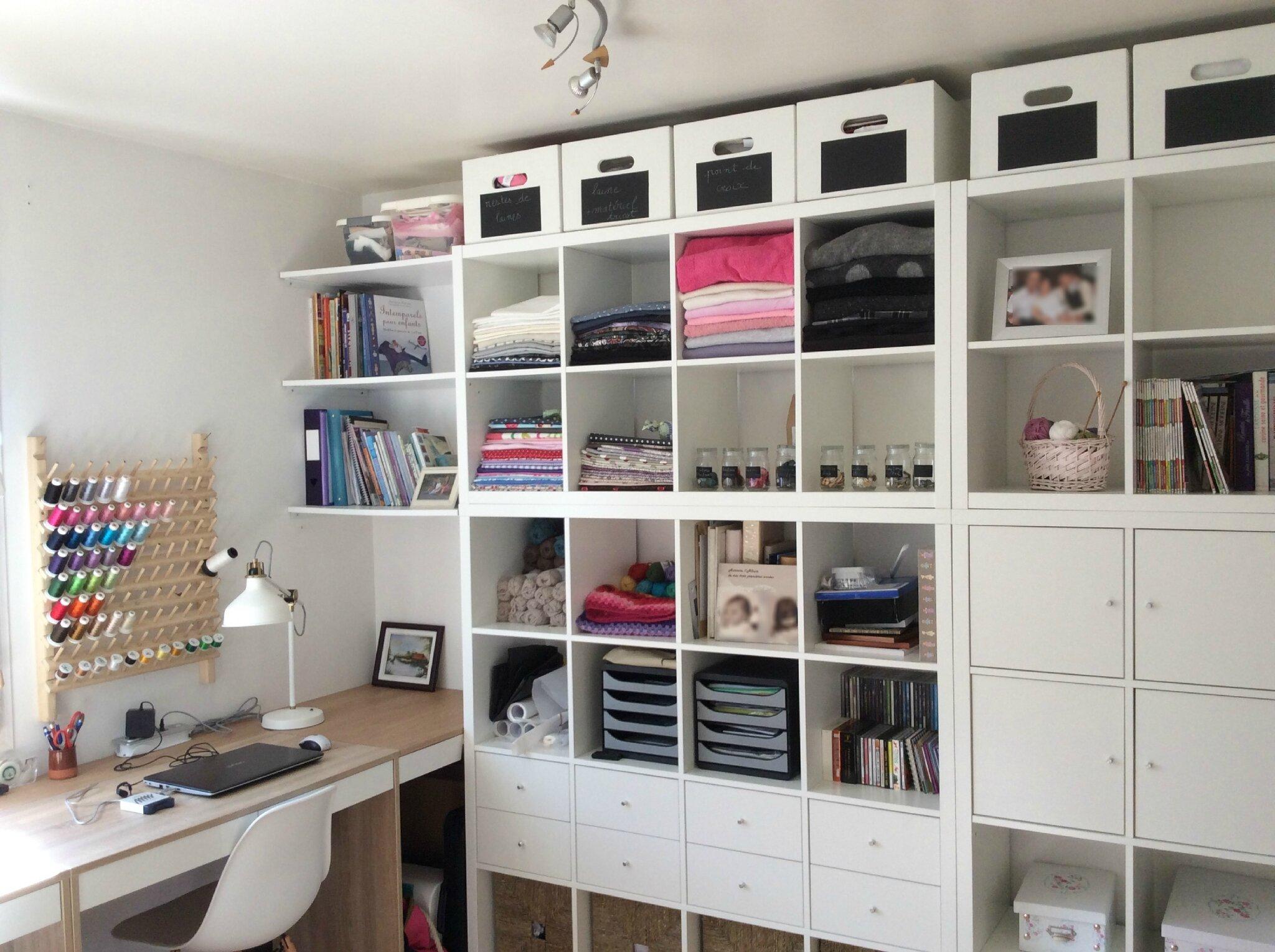 Mon atelier le fil d 39 auriane - Blog couture deco maison ...