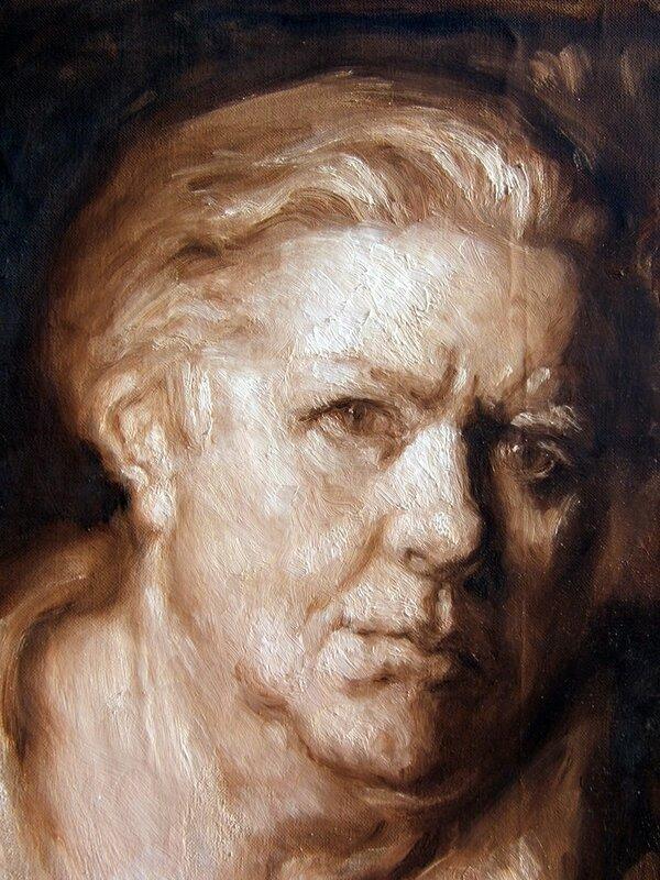 autoportrait en robe de chambre, marguerite jeanne carpentier