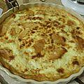 Clafoutis au pomme miel cannelle