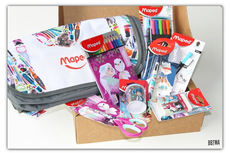 School box maped crayon bbtma blog parents enfant rentrée classe école cartable liste scolaire 2