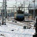 BB 9303 dans les neiges bordelaises (rare!)