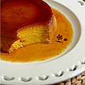 Flan de potimarron a l'orange