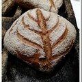 Petits pains de seigle aux zestes de citron