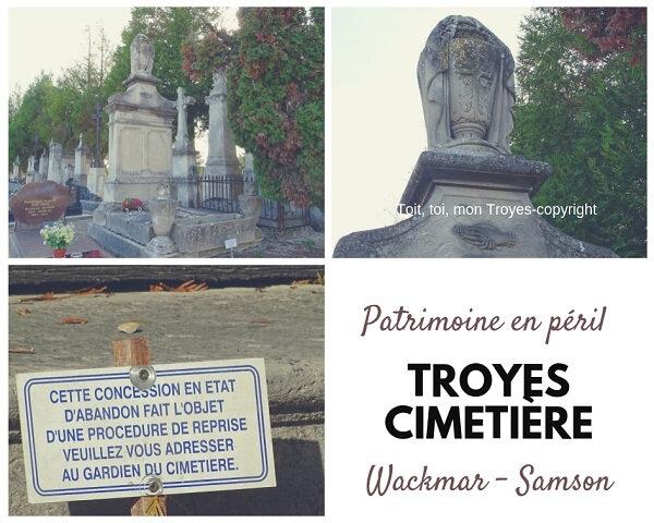 TROYES Cimetière_les chapelles en péril_Famille Wackmar Samson