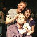 Seba, Genevieve et Greg Maldar