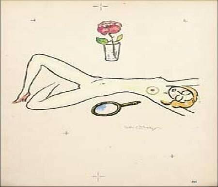 Nu_au_miroir_et_la_rose_1949_de_Kees_Van_Dongen