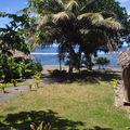 Vue depuis le bungalow a Tanna