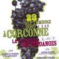 affiche Foulée des Vendanges Corconne 2007