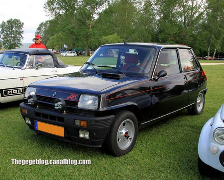 Renault 5 alpine (Retro Meus Auto Madine 2012) 01