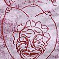 La Toute Vieille affiche . Linogravure de Laure Thomas